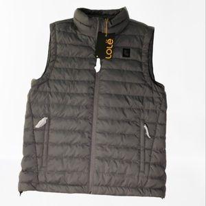 Lole Irving Packable Vest Down Filled Men's Gray